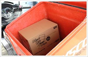 バイク用ボックス(荷室)